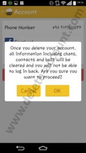 Delete Beetalk account - Deactivate Account
