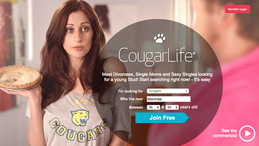 Cougar dating legit